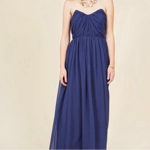 ModCloth Geode genuine grandeur maxi dress